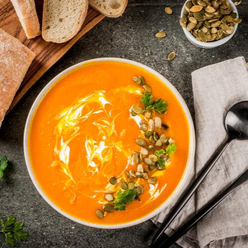 pumpa mascarpone soppa